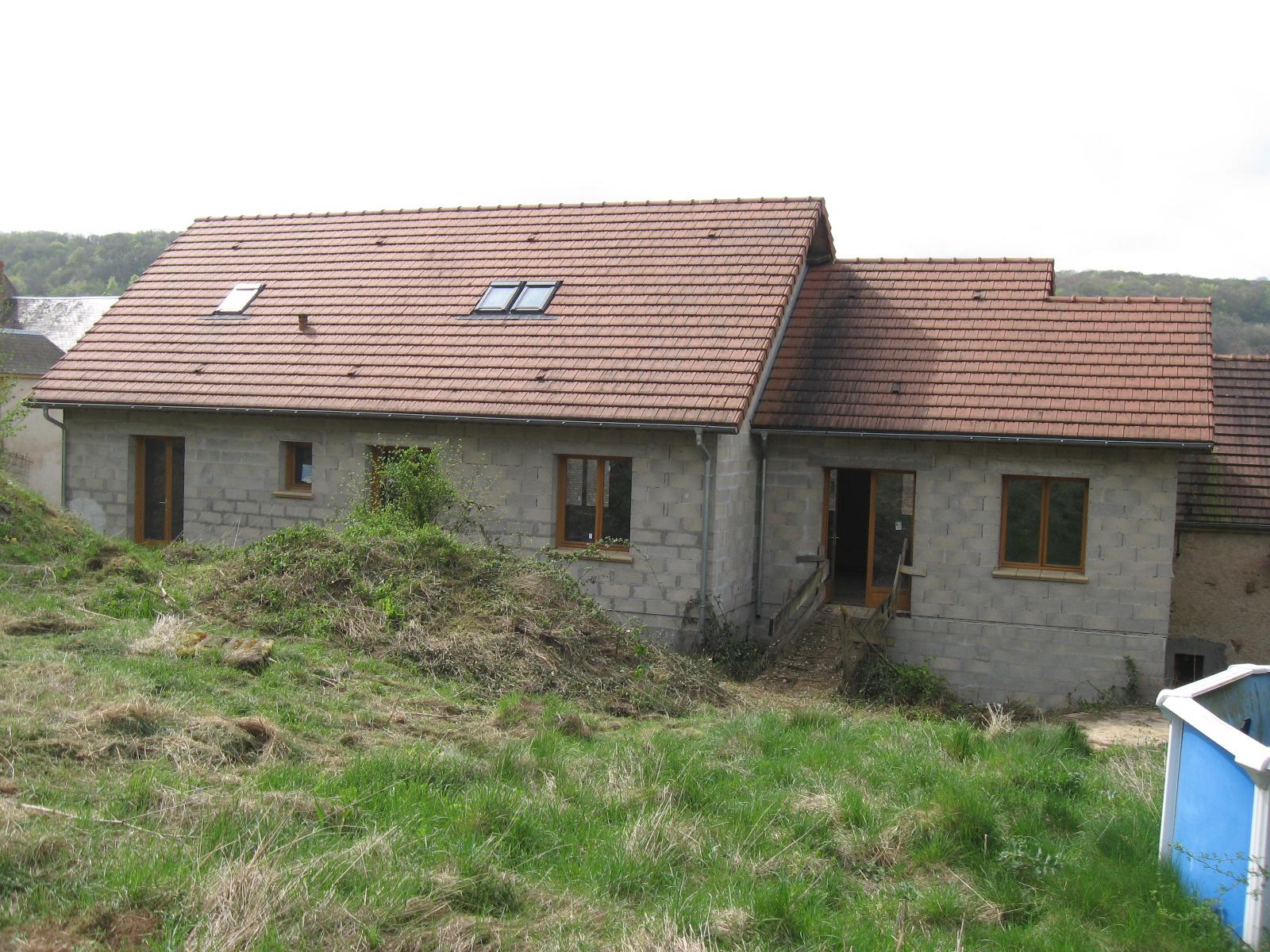 Vente maison pr mery 58700 sur le partenaire for Simulation agrandissement maison
